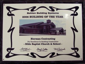 2006 Overall Bldg Year