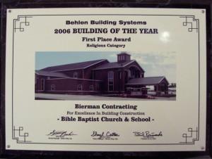 2006 Religiousl Bldg Year