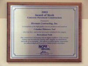 Paving - Award